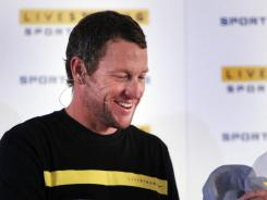 Many Lance Armstrong fans view him more as a cancer survivor and activist than a champion cyclist, and his sponsors cited his work with the Livestrong foundation in affirming their support Friday in the wake of doping sanctions announced against Armstrong.