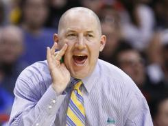 Marquette coach Buzz Williams during the 2012 NCAA Tournament.