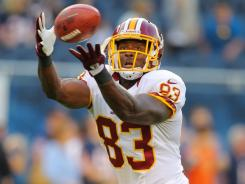 Fred Davis served a four-game suspension last season for violating the NFL's substance abuse policy. He was still named the Redskins' offensive player of the year.
