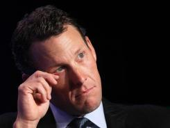 Lance Armstrong, cyclist and founder and chairman of LIVESTRONG, decided not to fight against the US Anti-Doping Agency.