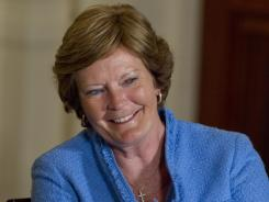 Pat Summitt, shown May 29, was the grand marshal Friday for the NASCAR Nationwide race at Bristol Motor Speedway.