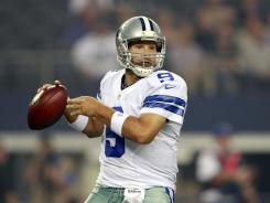 Tony Romo only played three series, but was 9-for-13 passing.