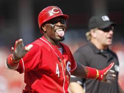 Brandon Phillips had three hits including his 14th homer of the season in the Reds win.
