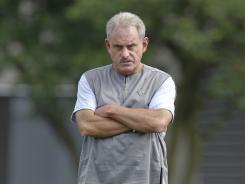 New Orleans Saints interim coach Joe Vitt.