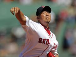 Daisuke Matsuzaka has been on the DL since early July with a strained neck muscle.