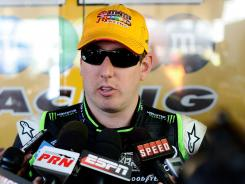 Kyle Busch will drive in the trucks event at Atlanta Motor Speedway, his first in that series since November 2011.