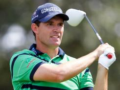 Padraig Harrington, shown here during the second round of The Barclays at Bethpage State Park, missed a wildcard to the European Ryder Cup team.
