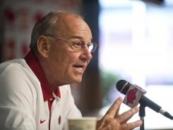 John L. Smith has a 10-month contract and the Arkansas head football coaching job could be one of the most sought after in the country after the season.