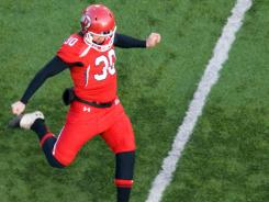 Kickers such as Utah's Nick Marsh will be kicking off from the 35-yard line instead of the 30.