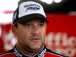 Tony Stewart was not punished by NASCAR for his helmet toss toward Matt Kenseth's No. 17 Ford during the Irwin Tools Night Race.
