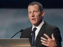 Lance Armstrong, who spoke to delegates at the World Cancer Congress in Montreal Wednesday, announced last week he would no longer challenge the U.S. Anti-Doping Agency's drug charges against him.