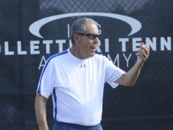 "Nick Bollettieri, at 80, is still going strong. ""I will tell you why, man,"" Bollettieri growls. ""I just love the excitement. I love getting up, and the action. I love being with action."""