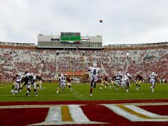 Dwindling attendance — Doak Campbell Stadium was 11,000 shy of capacity for this 2011 game against Louisiana-Monroe — has been a concern in recent years at Florida State.