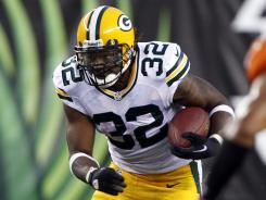The Green Bay Packers signed veteran Cedric Benson after training camp had started, but injuries to James Starks and Alex Green have put Benson in line to be the team's starting running back in Week 1.