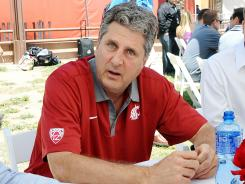 Never shy with an observation, new Washington State head coach Mike Leach — whose team opens the season at BYU on Thursday night — covered a lot of ground in his exclusive interview with USA TODAY Sports.