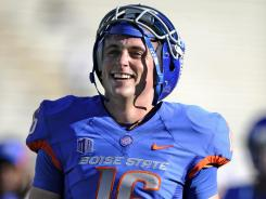 Boise State redshirt junior Joe Southwick is merely following in the footsteps of Kellen Moore, who had a major college-record 50 wins in his Broncos career.
