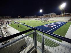Eagle Stadium cost nearly $60 million and holds 18,000 people.