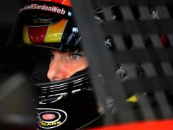 Jeff Gordon won the fall Atlanta race in 2011.