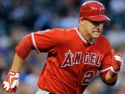 Mike Trout may walk away with Rookie of the Year and MVP honors in the AL.