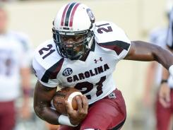 Marcus Lattimore's go-ahead TD early in the fourth gave South Carolina the win.