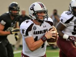 Connor Shaw threw for 67 yards, but he came through when South Carolina needed him.