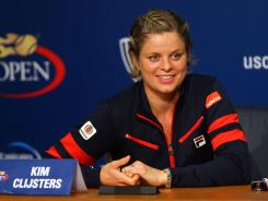 Kim Clijsters of Belgium had announced that the U.S. Open would be her final tournament, once she was eliminated. On Saturday, she lost in mixed doubles to end her career.