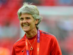 Head coach Pia Sundhage helped the U.S women's soccer team win the gold medal at the London Games, but now she has decided to resign.