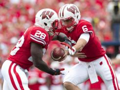 """Wisconsin football may not be the prettiest thing to watch, but we get Ws,"" head coach Bret Bielema said."