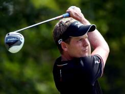 Luke Donald of England criticized a golf course architect on Twitter by mistake.