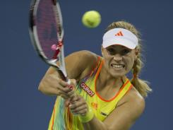 Angelique Kerber of Germany has played her best tennis at the U.S. Open.