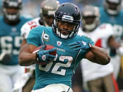 Maurice Jones-Drew, who led the NFL in rushing in 2011, is back with the Jaguars, but without a new deal.