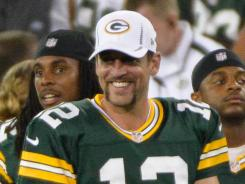 Aaron Rodgers says an offseason in California helped him refocus after the Packers' 15-1 season ended with a loss in their playoff opener.