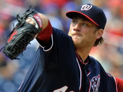 Nationals' Ross Detwiler allowed four hits in seven shutout innings.