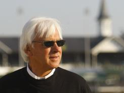 Hall of Fame trainer Bob Baffert, pictured, learned the horse-racing business from his father Bill, who died Monday at the age of 88.