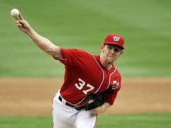 Washington Nationals starting pitcher Stephen Strasburg (37) is still going to be shut down as a health precaution despite the team's best chance for a meaningful postseason in 79 years.