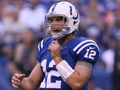 Colts QB Andrew Luck had little problem directing the offense in the preseason.