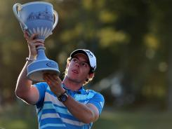 Rory McIlroy fired a final-round 67 to win the Deutsch Bank Championship.