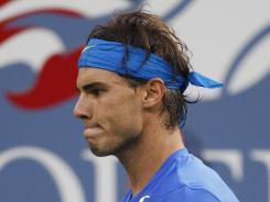 Rafael Nadal of Spain was forced to miss the U.S. Open this year because of a partially torn tendon in his knee.