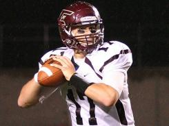 Eureka (Ill.) quarterback Sam Durley threw for 736 yards in his team's win Saturday against Knox (Ill.) in NCAA Division III college football.