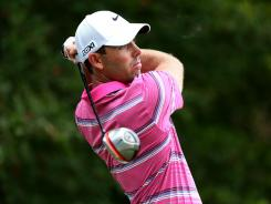 Charl Schwartzel of South Africa has been battling a rib injury and might not play in this week's BMW Championship.