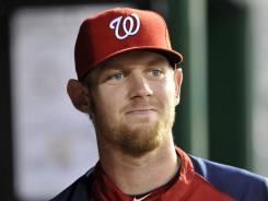 Stephen Strasburg is projected to make his final two starts on Friday against Miami and on Sept. 12 in New York.