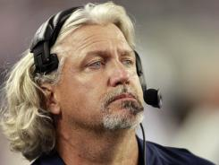 Dallas Cowboys defensive coordinator Rob Ryan.