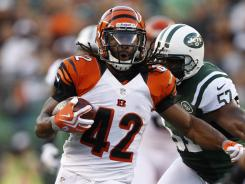 Bengals running back BenJarvus Green-Ellis has 26 rushing touchdowns over the past two seasons. Only Arian Foster of the Houston Texans has more.