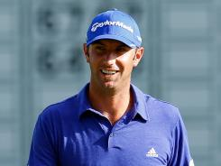Dustin Johnson played well at the Deutsche Bank Championship, tying for fourth.