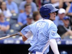 Main attraction: Royals fans got a glimpse of the future on July 8 when Wil Myers drove in three runs in the U.S. team's 17-5 victory against the World team in the Futures Game at Kauffman Stadium.