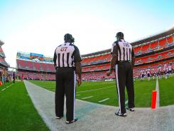 The NFL stands by replacement officials to open the season because it can.