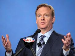 NFL Commissioner Roger Goodell announced a $30 million medical pledge to the NIH on Wednesday.