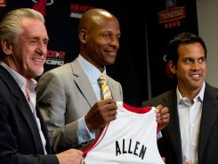 Ray Allen is the NBA's all-time leader in three-pointers with 2,718.