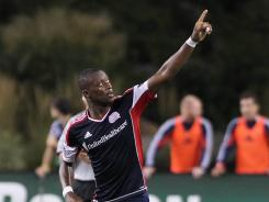 Dimitry Imbongo's 53rd-minute goal helped the Revolution top the Crew 2-0.
