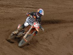 2012 Lucas Oil Pro Outdoor Motocross Champion Ryan Dungey competes this weekend in Lake Elsinore, Calif.